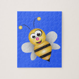 Cartoon Bee Jigsaw Puzzle