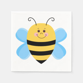 Cartoon Bee Paper Napkins