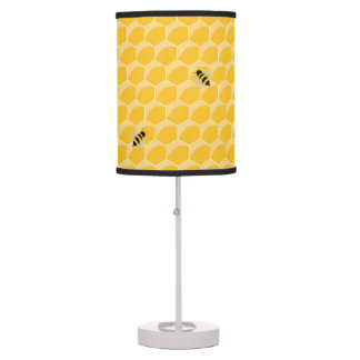 Cartoon Bees And Honeycomb Kids lamp