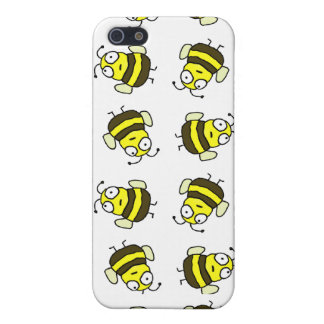 Cartoon Bees iPhone 4 Case