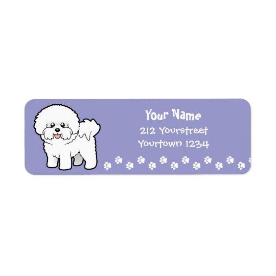 Cartoon Bichon Frise