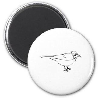 Cartoon Bird Refrigerator Magnet