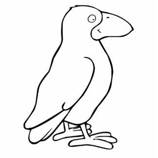 Cartoon Bird Acrylic Cut Out