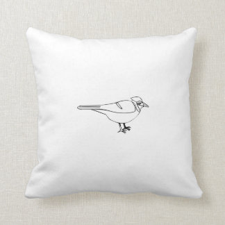 Cartoon Bird Pillow