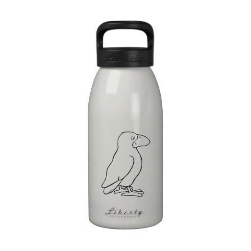 Cartoon Bird Drinking Bottles