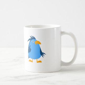 Cartoon Bird - White Coffee Mug
