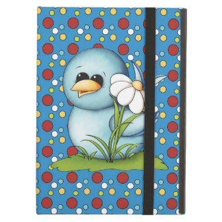 Cartoon Blue Bird iPad Air Powis case