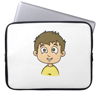 Cartoon Boy Laptop Sleeve