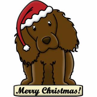 Cartoon Boykin Spaniel Christmas Ornament Photo Sculpture Ornament