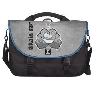 Cartoon Brain Fart | Laptop Bag