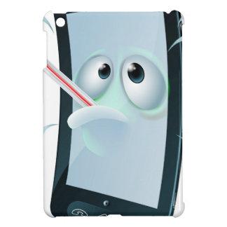 Cartoon broken mobile phone case for the iPad mini