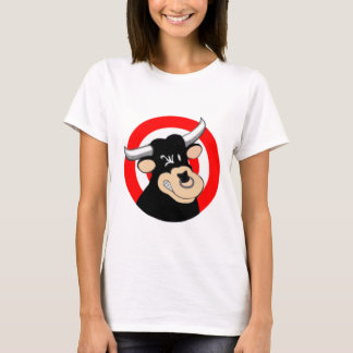 Cartoon Bull BullsEYE T-Shirt