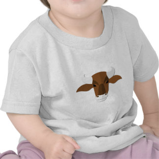 Cartoon Bull Head Tshirt