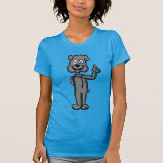 Cartoon Bulldog Character T-Shirt