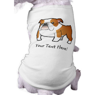 Cartoon Bulldog Doggie Shirt