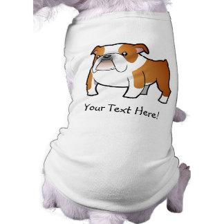 Cartoon Bulldog Dog T-shirt