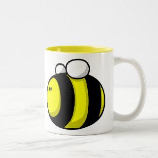 Cartoon Bumble Bee Two-Tone Mug