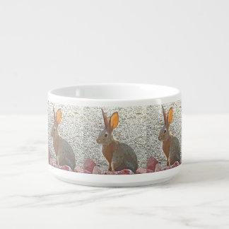 Cartoon Bunny Chili Bowl