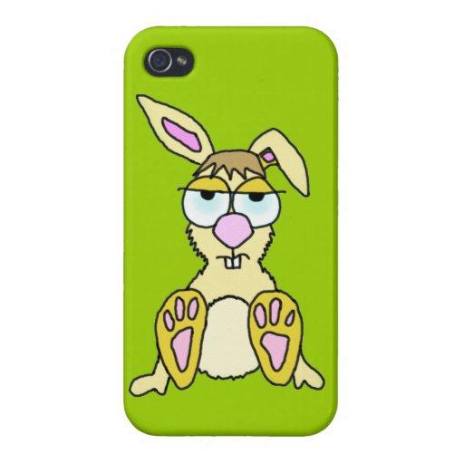 Cartoon Bunny iPhone 4 Covers