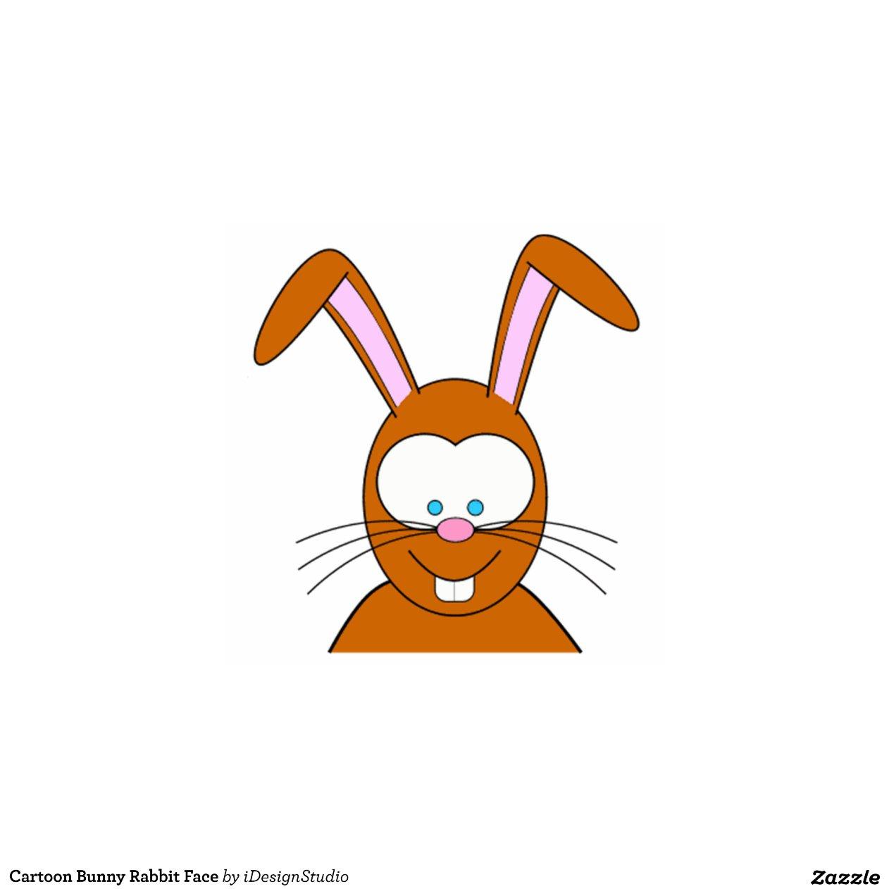 Cartoon rabbit face - photo#12
