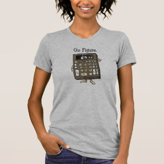 Cartoon Calculator T-shirt Apparel