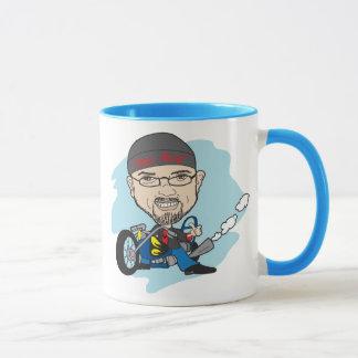 cartoon caricature mug