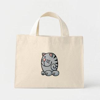Cartoon Cat Mini Tote Bag