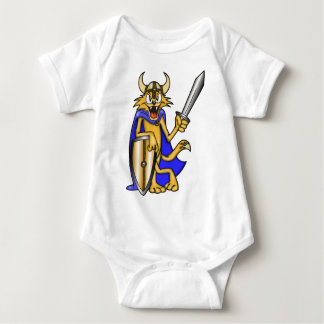 Cartoon Cat Viking Warrior T-shirts