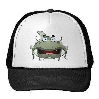 Cartoon Catfish Mesh Hats