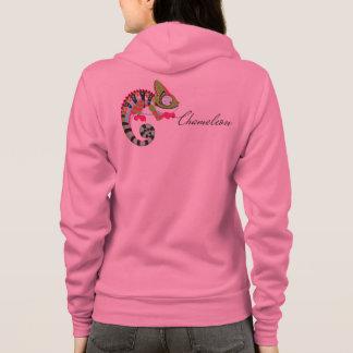cartoon chameleon hoodie