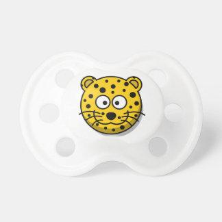 Cartoon Cheetah Wild Cat Pacifier