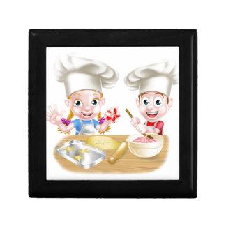 Cartoon Chef Baker Children Gift Box