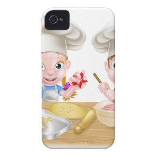 Cartoon Chef Baker Children iPhone 4 Cases