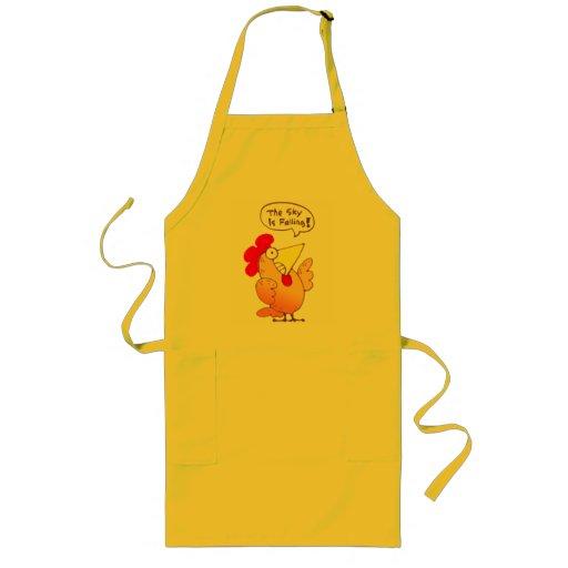 Cartoon Chicken Apron | Funny Cartoon Chicken