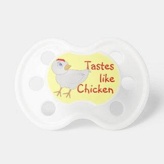 Cartoon Chicken Custom Baby Pacifier