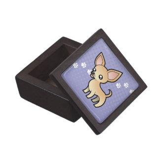 Cartoon Chihuahua (smooth coat) Premium Gift Boxes