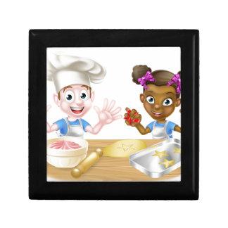 Cartoon Children Bakers Cooking Gift Box