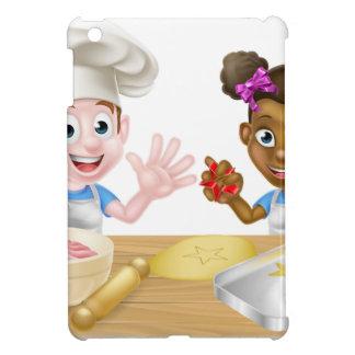 Cartoon Children Bakers Cooking iPad Mini Covers