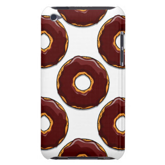 Cartoon Chocolate Donut Design Barely There iPod Covers
