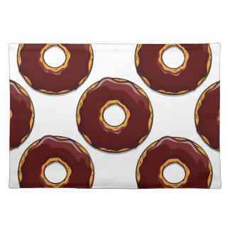 Cartoon Chocolate Donut Design Placemat