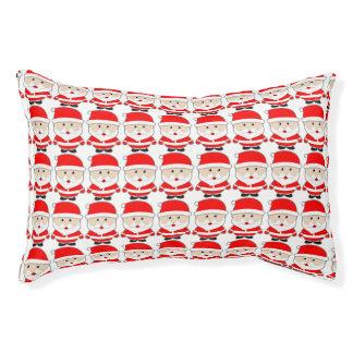 Cartoon Christmas Santa Claus Indoor Small Dog Bed