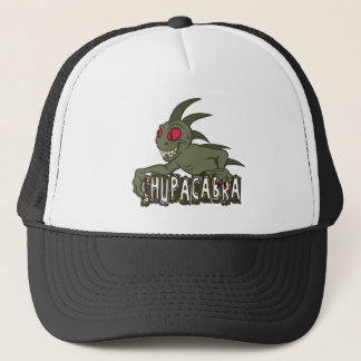 Cartoon Chupacabra Trucker Hat