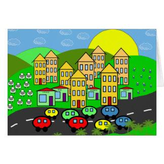 Cartoon City Card