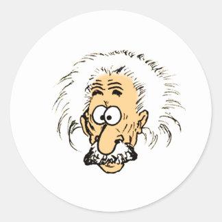 Cartoon Classic Round Sticker