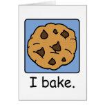 Cartoon Clip Art Yummy Chocolate Chip Cookie Cards