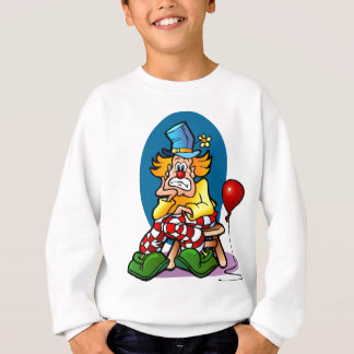 Cartoon Clown Sweatshirt