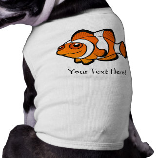 Cartoon Clownfish Pet T-shirt
