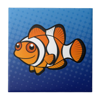 Cartoon Clownfish Tile