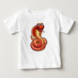 Cartoon Cobra Snake Character Baby T-Shirt