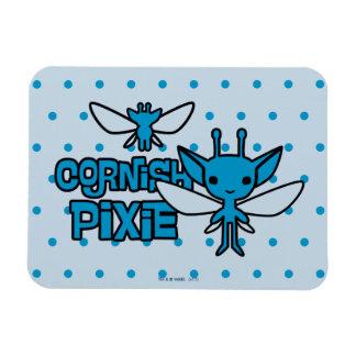 Cartoon Cornish Pixie Character Art Magnet